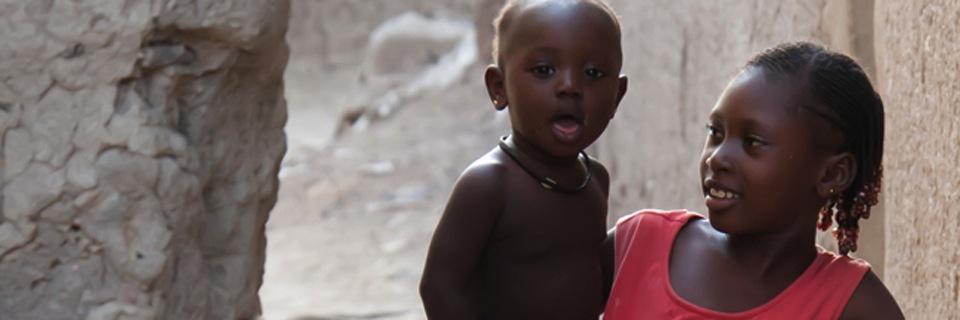 Dzieci z Burkina Faso