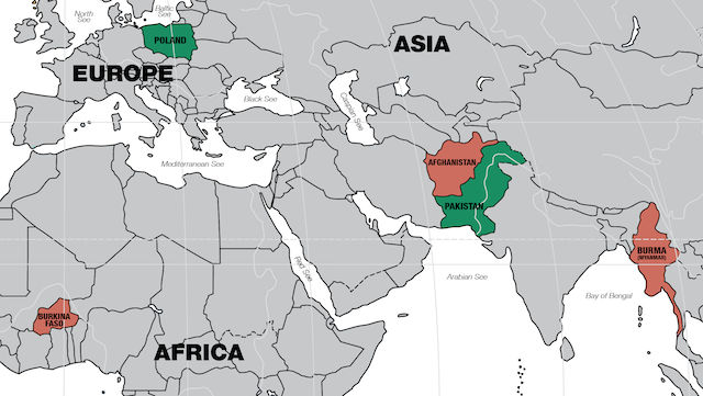 Mapa działań EdP